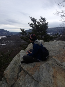 My bro at Crampton Gap.