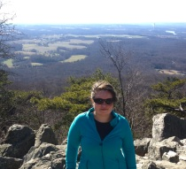 Me on Sugarloaf Mountain. Don't let the name deceive you. It's more of a hill.