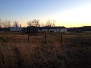 Horse farm on periphery of the Battlefield.