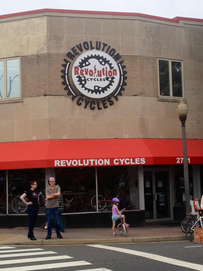 Like any upwardly mobile urban area, biking is big in Clarendon.