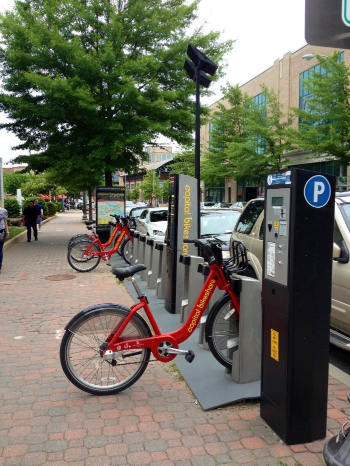 D.C's bike share program extends to Clarendon.