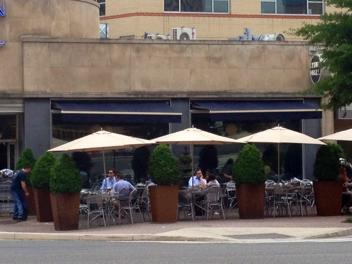 And more patio dining.