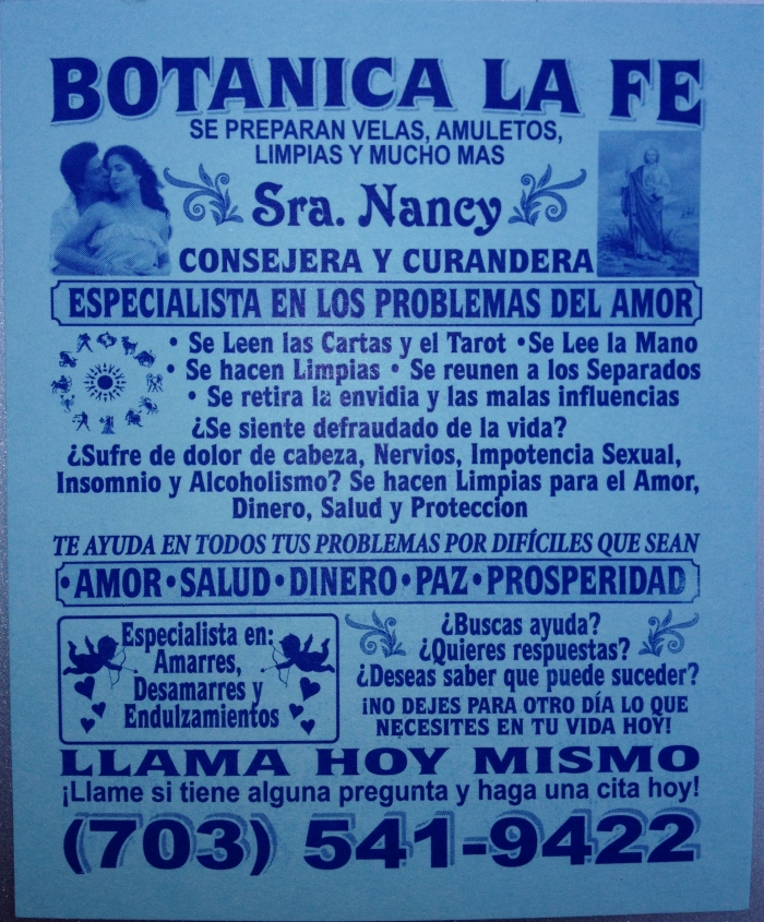 Sra. Nancy's cure-all.