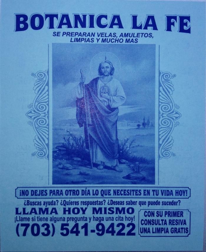 Botanica la Fe.
