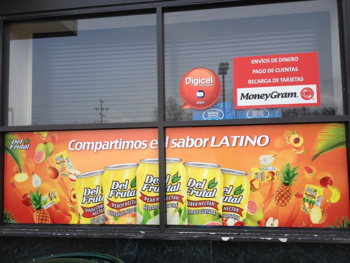 Latin American Grocery Store.