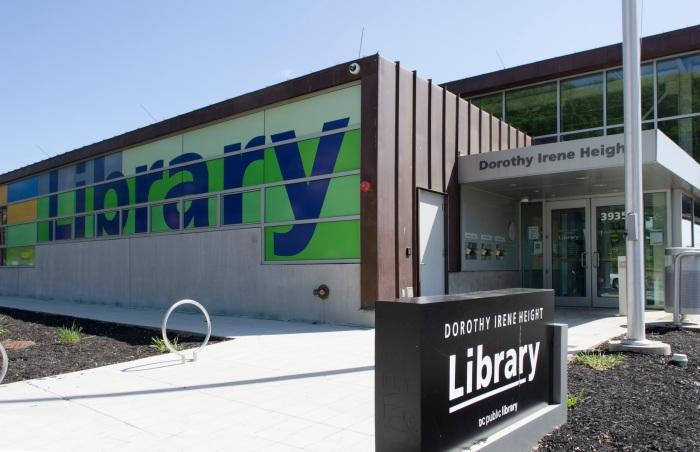 Beautiful, new, LEED Certified Dorothy I. Height/Benning Neighborhood Library.