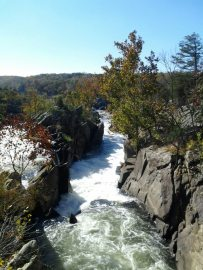 Maryland side of Great Falls.