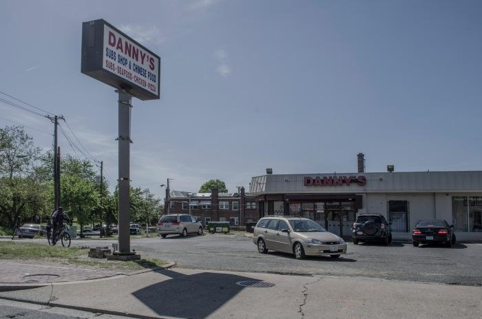 Near the Minnesota Avenue Stop.