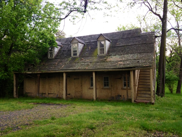 A structure at the Mount Gilead Historic site. Apparently, an inn opened up here in 1785.