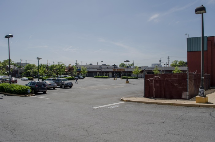 Large open spaces in Northeast D.C. Non-aesthetic parking surfaces.