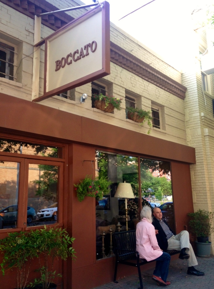 Boccato from the outside.