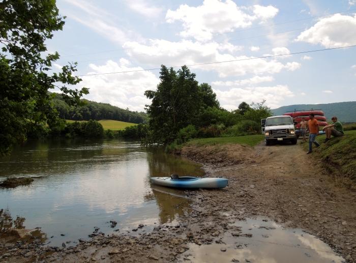 Shenendoah River.