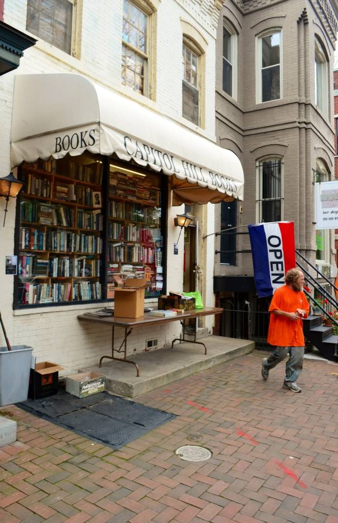 Capitol Hill Books. Located across the street from Eastern Markets, this is probably the most crowded books store I've ever visited. I felt transported to La Calle del Libro in Bogota.