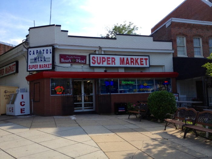 Another small market. This one looked a little nicer than Mott's Market, at least on the outside.