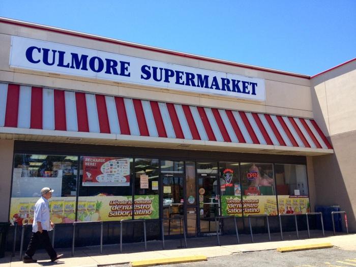 Culmore Supermarket storefront.