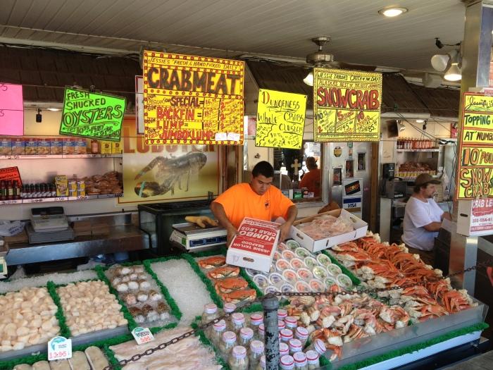 D.C Fish Market Selection