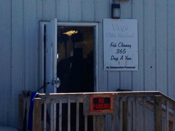 In case you need your fish filleted (is that gramatically correct?) this place will do it for you.