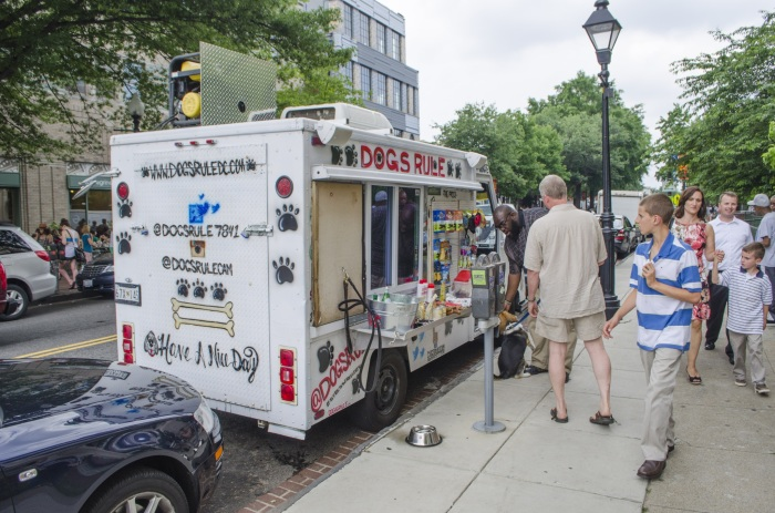 You know things have gone too far when there are food trucks not only for humans but for dogs.