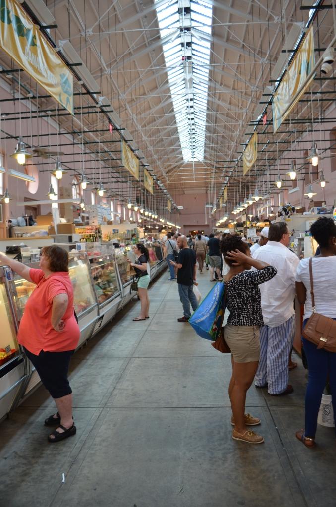 Eastern Market inside.