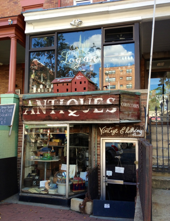 Antiques Shop.