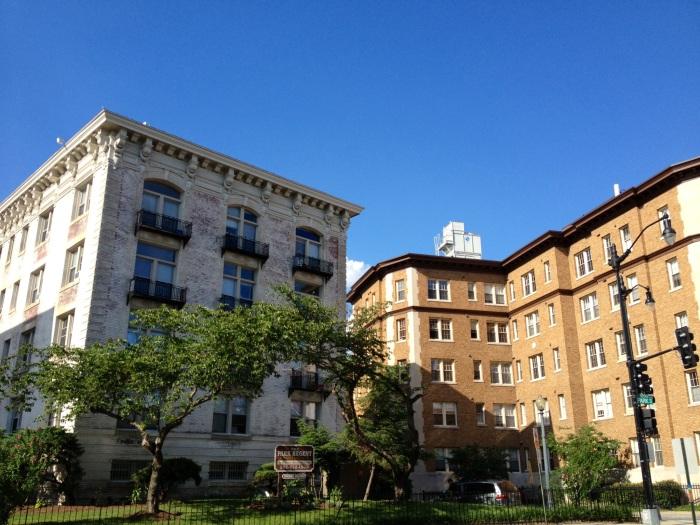 Mount Pleasant apartment buildings.