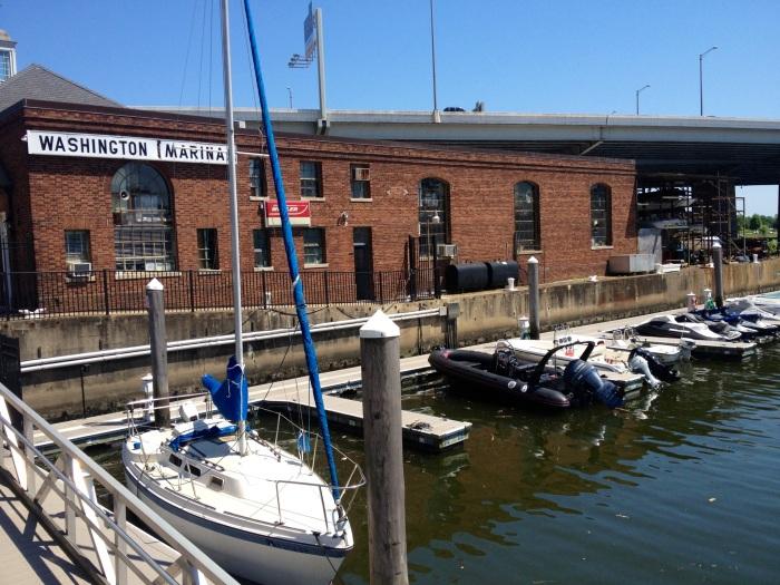 The Washington Marina.