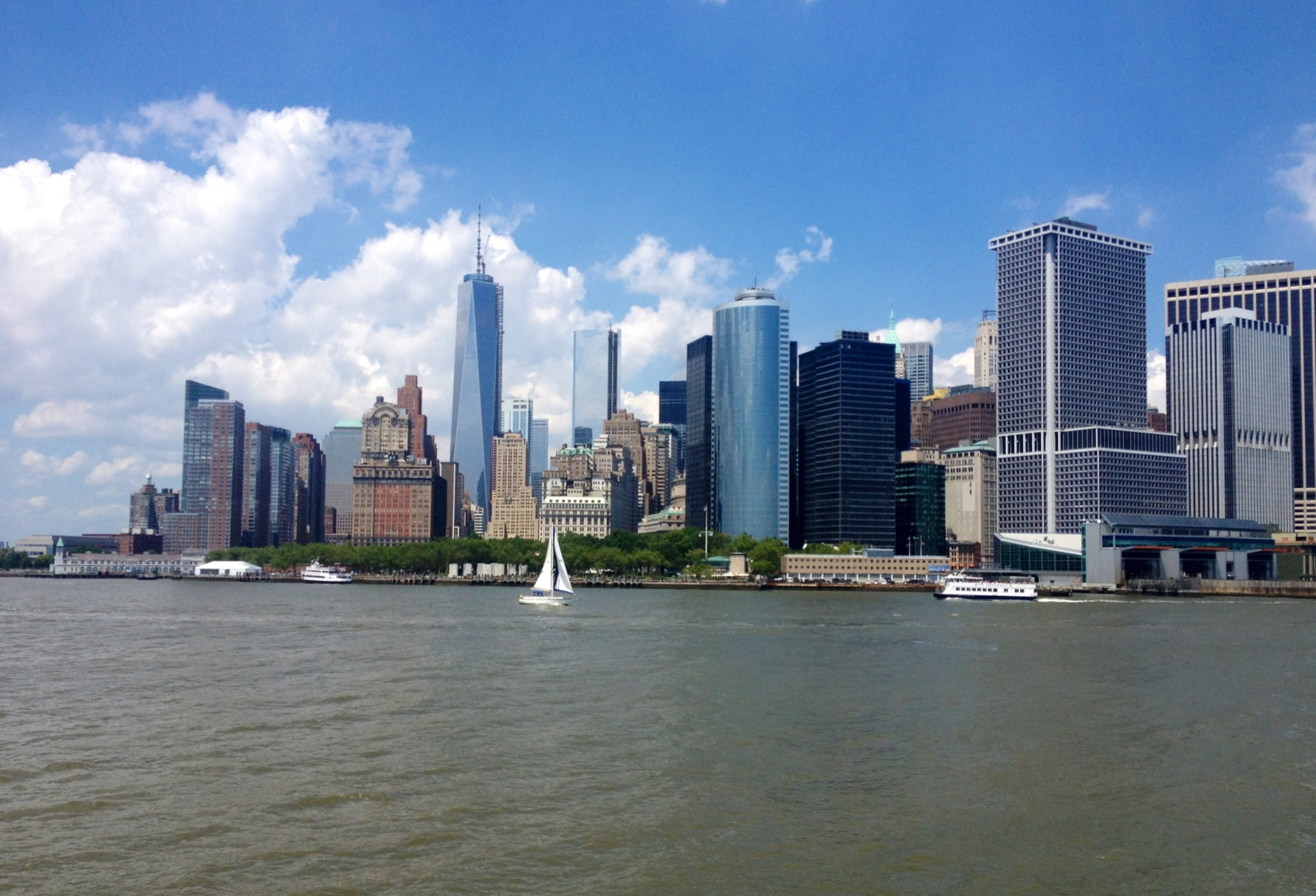 how to go to staten island from manhattan