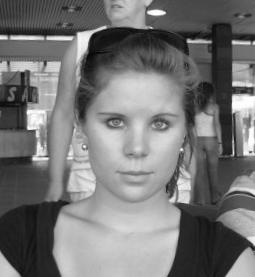My sister at age 22.