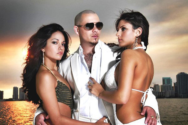 Is Pitbull's objectifying of women really less offensive than a young, confused ungraceful Miley Cyrus at the VMA's?
