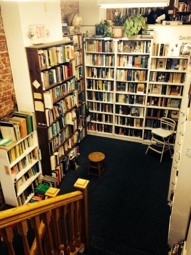 A used bookstore in Adams Morgan.