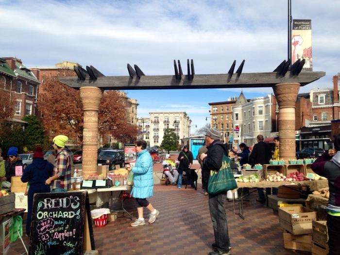 Mount Pleasant Farmer's Market.