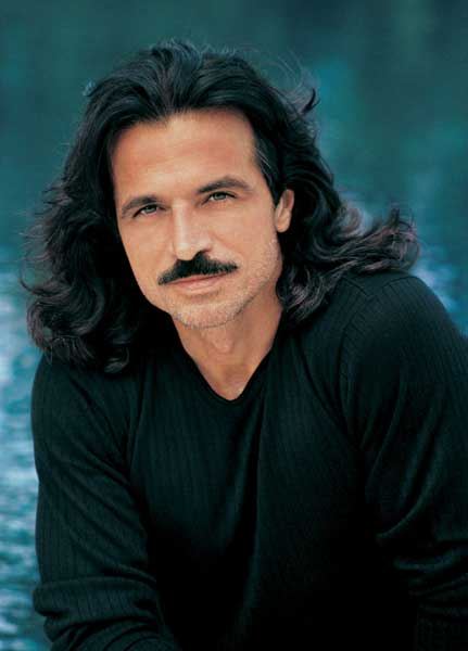Yanni, Mediterranean hearthrob and new-age idol.