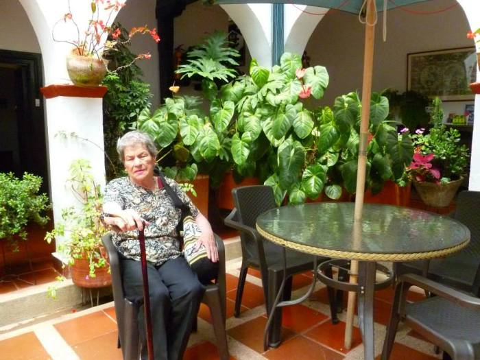 My beloved grandma.