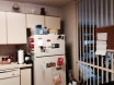 The picture's a little blurry, but I think you can appreciate the cabinets, permanent kitchen screen and overall nostalgia of it all.