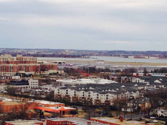 New, old, Potomac and airport.