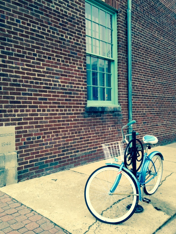 Lots of bikes in Del Ray.