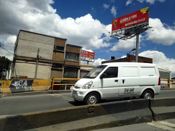 In Bogota, function usually trumps form. A lot of the city looks like it gained its architectural inspiration from 1970s Soviet era Russia.