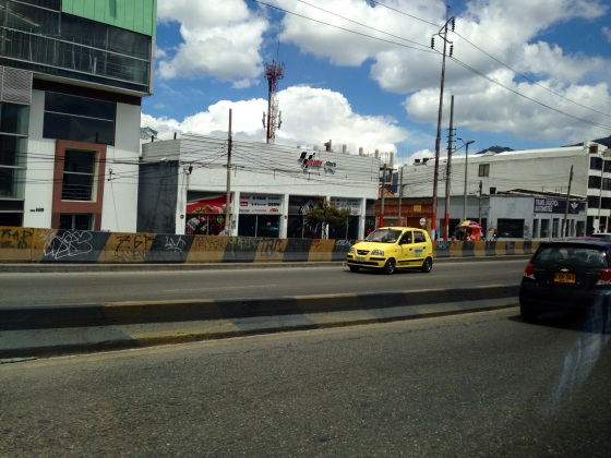 More examples of characteristic Bogota architecture.