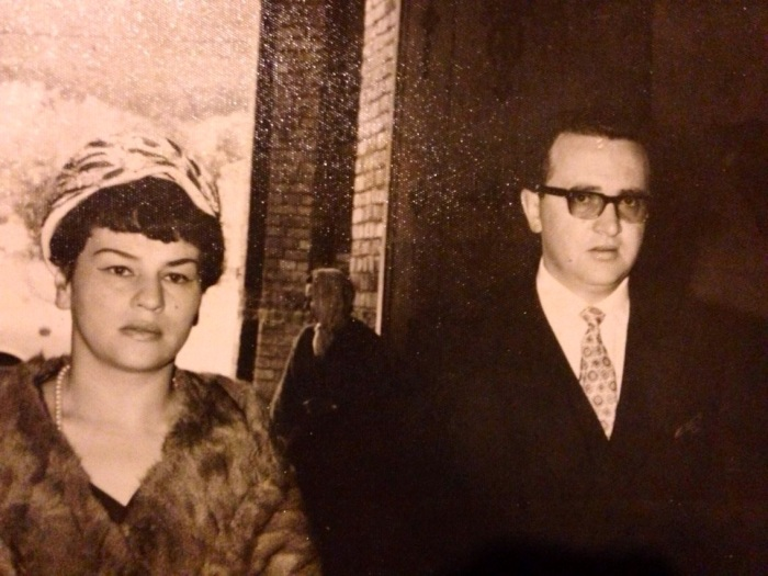 Not exactly my grandparents's best style moment, but this picture makes me laugh. They look like a New Jersey/Italian couple just indicted for mafia involvement.