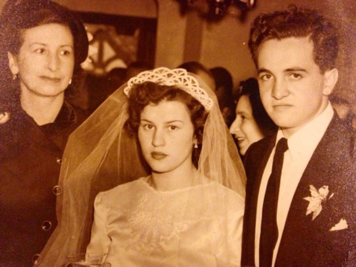 My grandparents on their wedding day in May 1951.