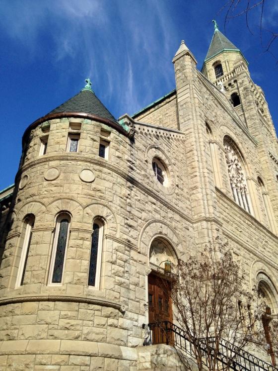 A nice stone church.