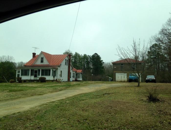 Farmland outside Fredericksburg