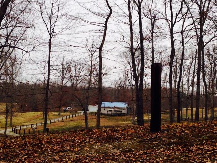 Farmlands outside Fredericksburg