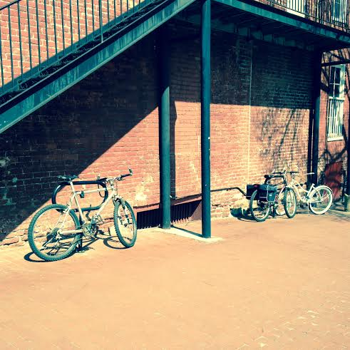 Bicycle hangout. I noticed the other day that I take a lot of pictures of bikes. I guess I just feel like there's nothing quite like exploring a place on bike.