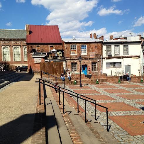 Fredericksburg Market Square 1