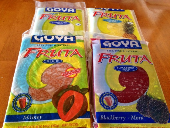 Look what I picked up at the Latin Market! So excited to make smoothies!