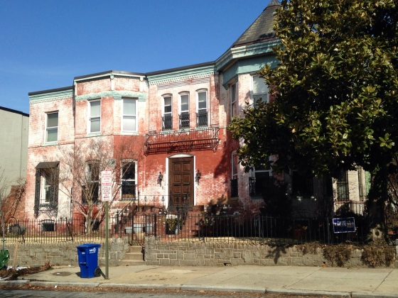 A big old house in the Capitol Hill neighborhood. I'd say this one could use a little work.