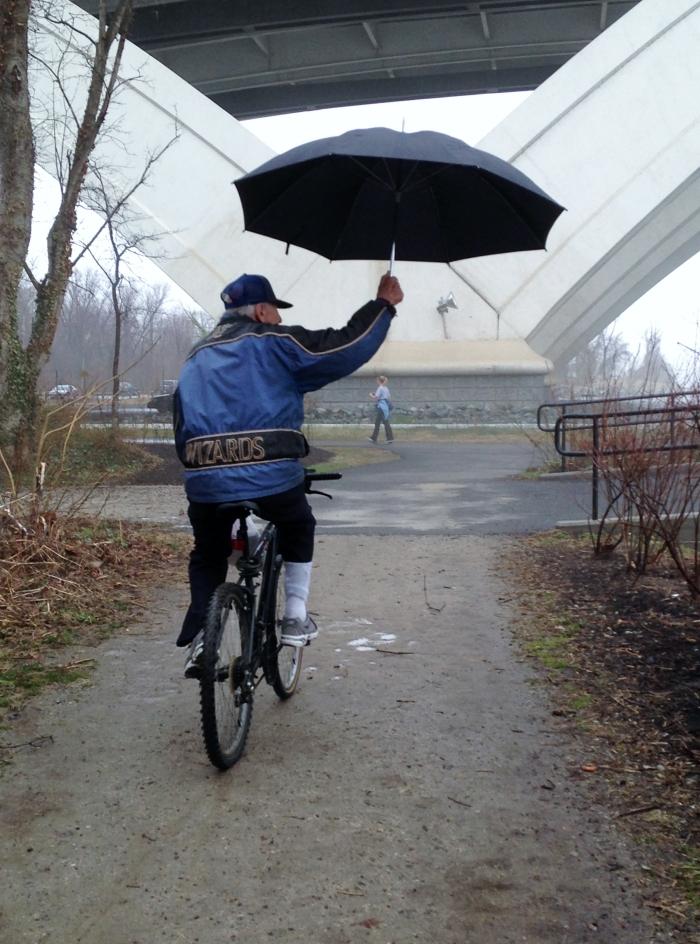 Potomac 15 This guy has the right idea