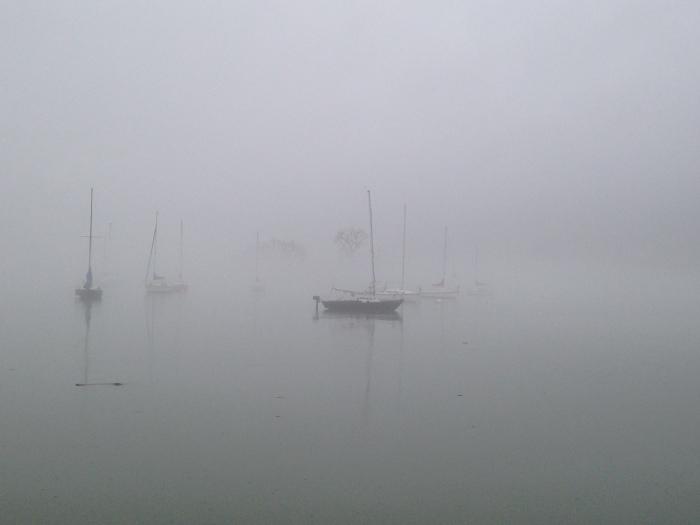 Potomac 5 Ghost Boats