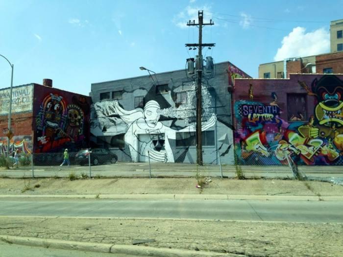 Decay graffiti